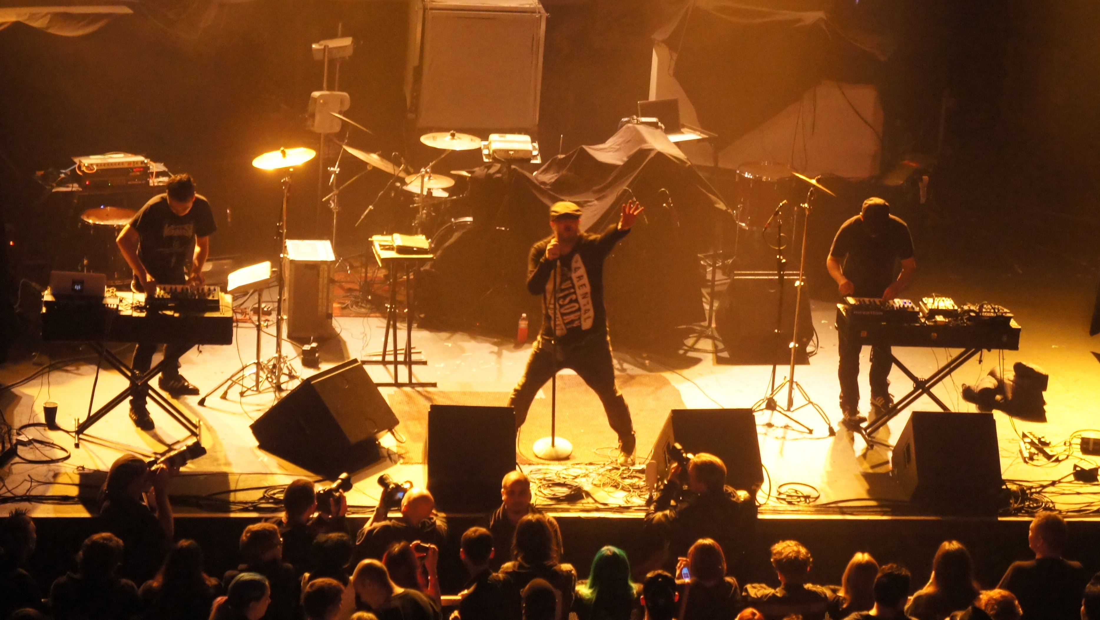 Haujobb (The Warfield, San Francisco) 2014