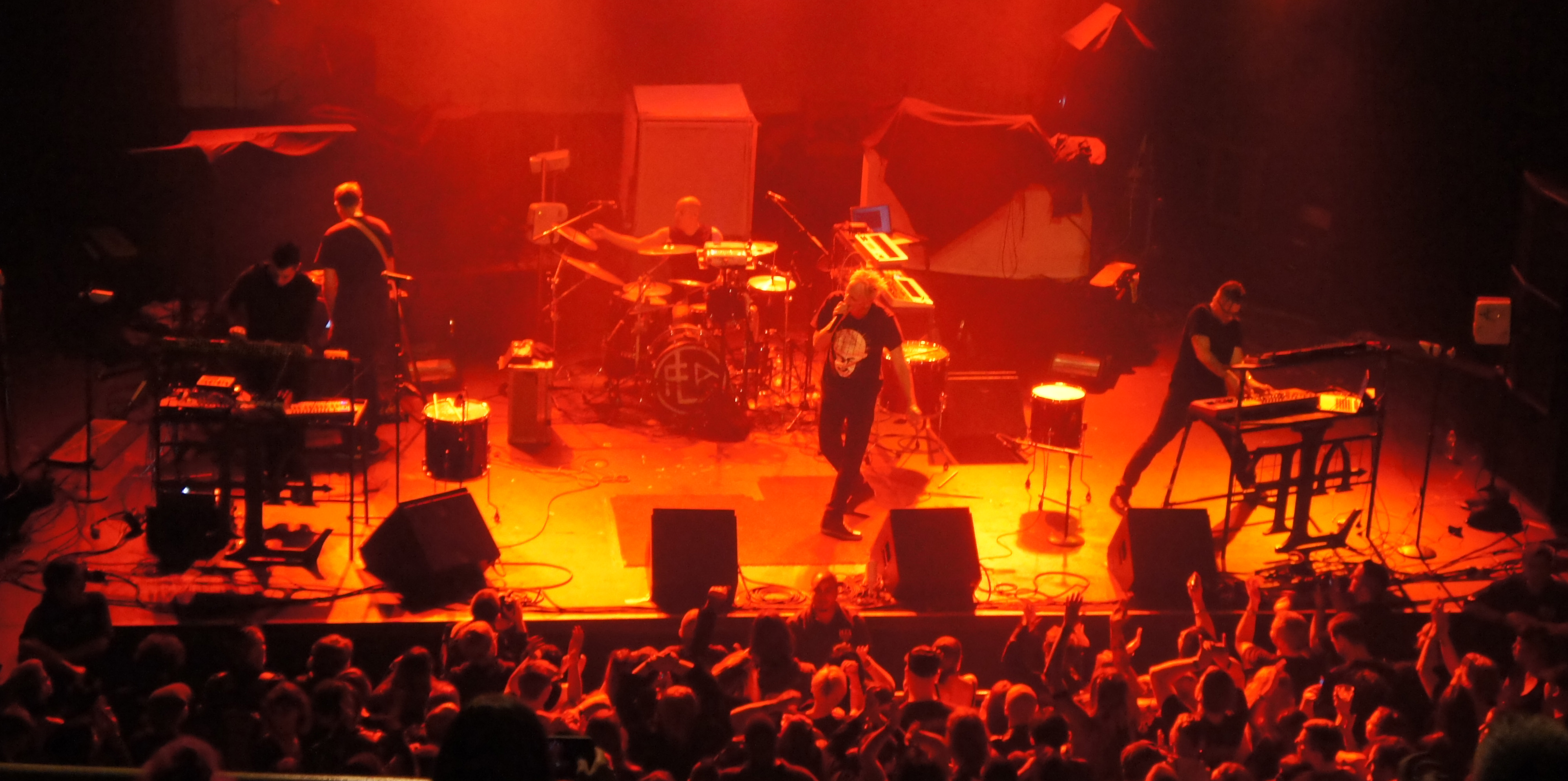Frontline Assembly (The Warfield, San Francisco) 2014