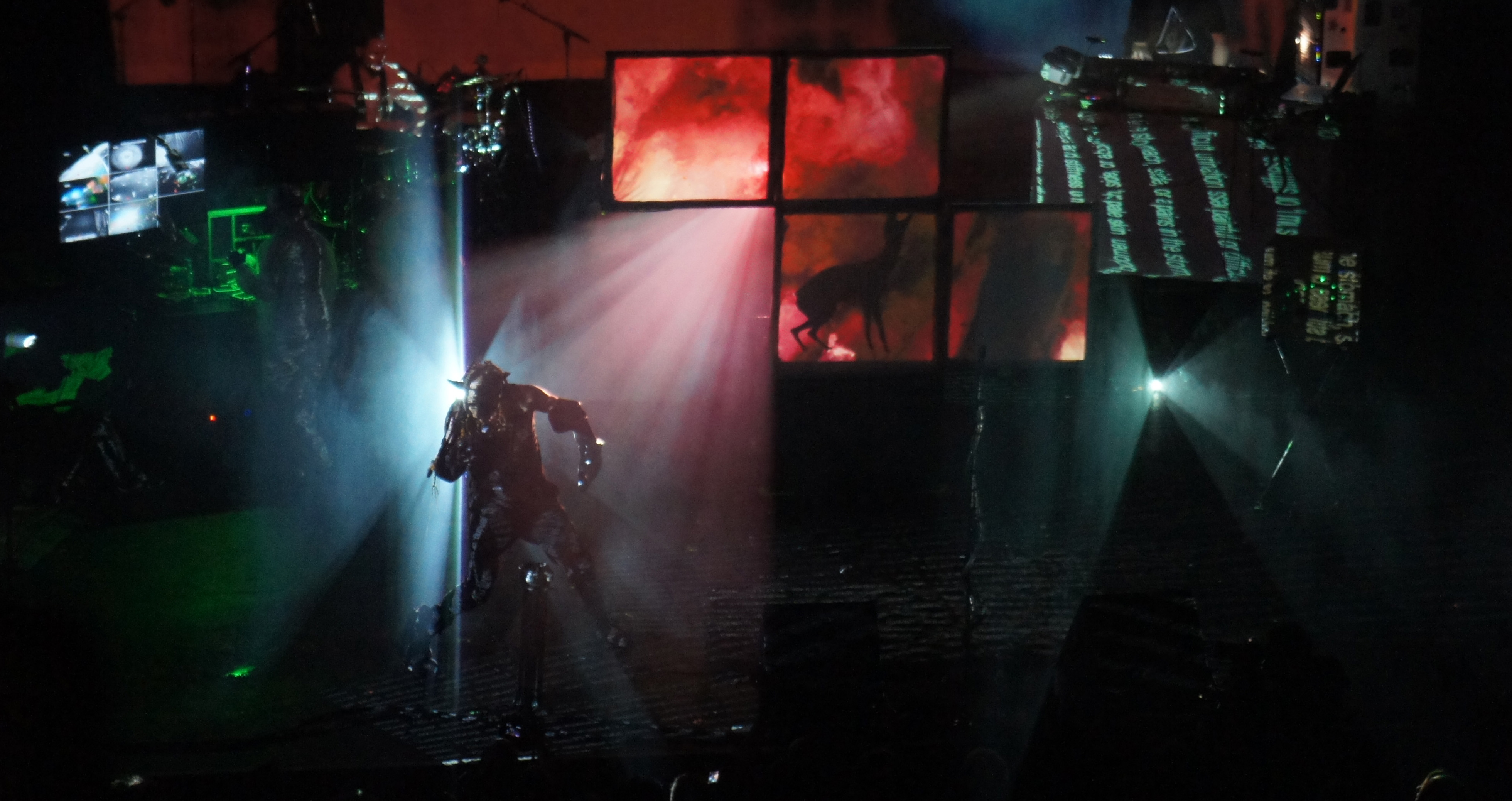 Skinny Puppy (The Warfield, San Francisco) 2014