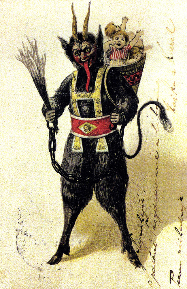 Gene Simmons has nothing on Krampus!