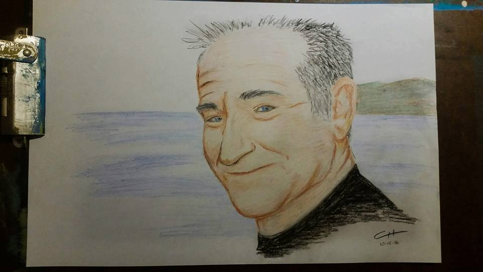 Robin Williams - Pastels
