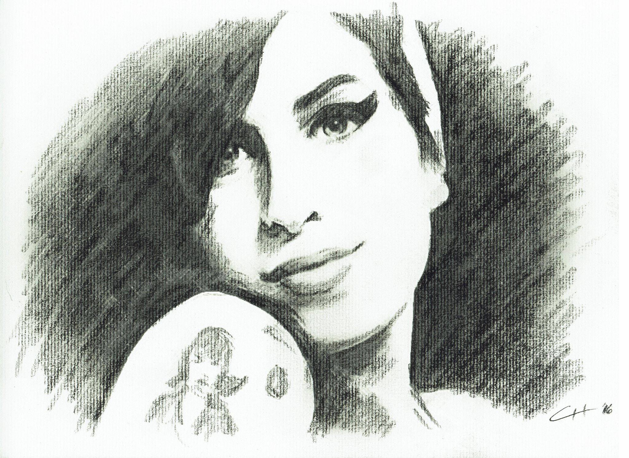 Amy Winehouse - Charcoal
