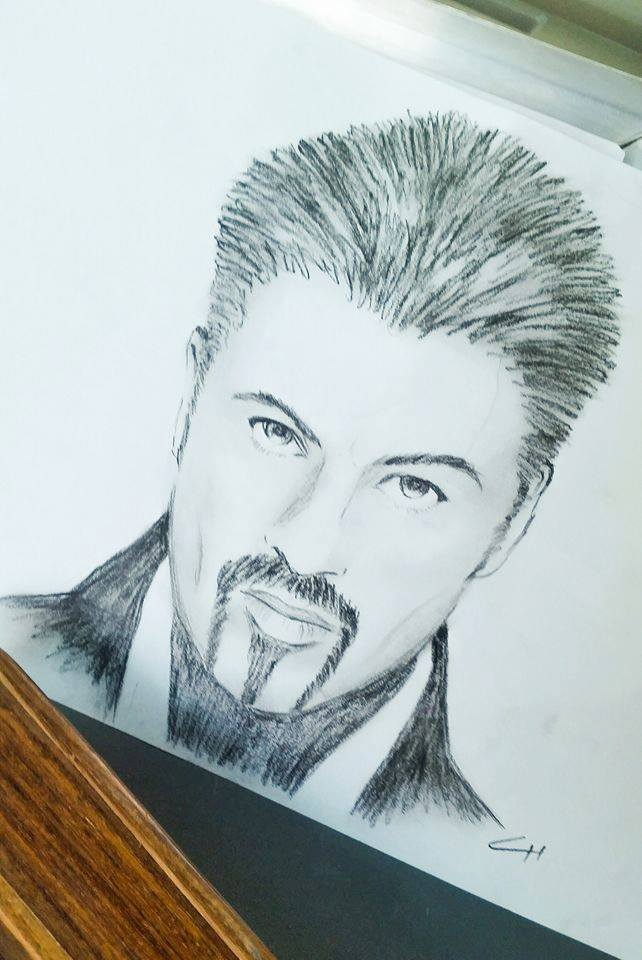 George Michael - Charcoal