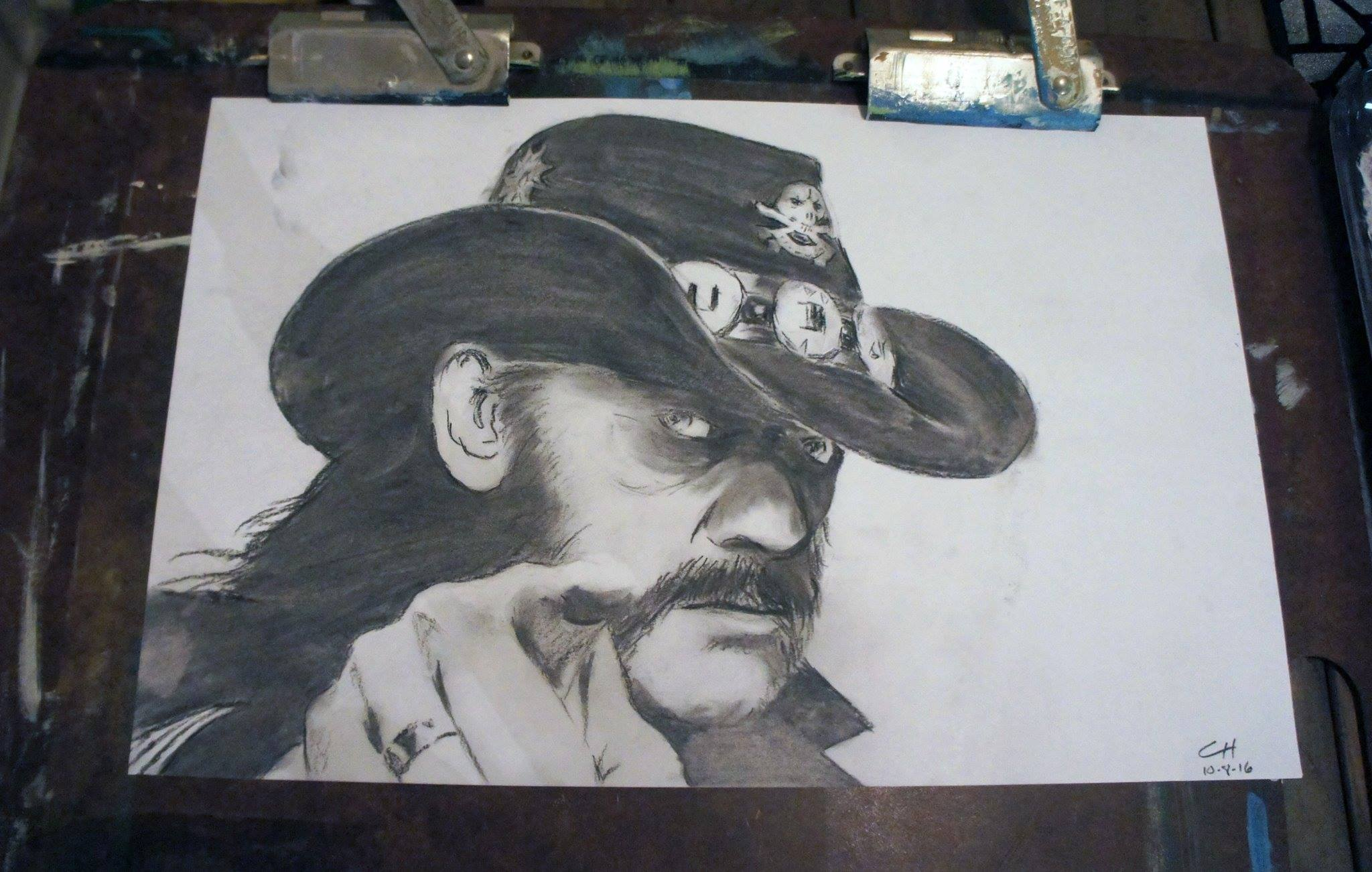 Lemmy Kilminster - Charcoal