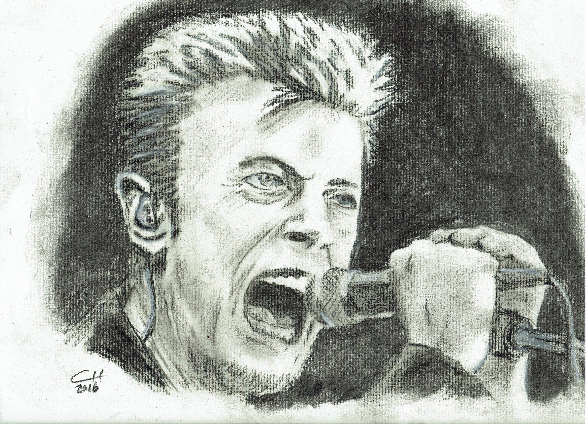 David Bowie - Charcoal